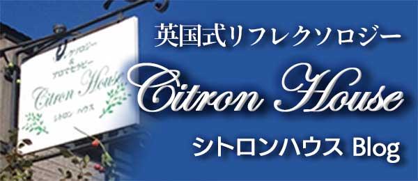 英国式リフレクソロジー シトロンハウス・ブログ(Citron House blog)